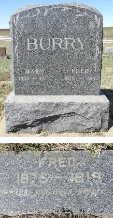 BURRY, FRED - Jones County, South Dakota   FRED BURRY - South Dakota Gravestone Photos