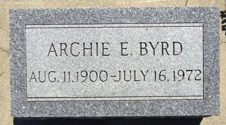 BYRD, ARCHIE - Jones County, South Dakota | ARCHIE BYRD - South Dakota Gravestone Photos