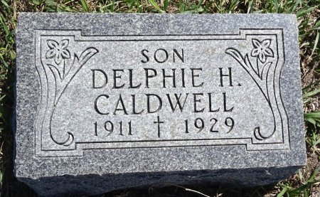CALDWELL, DELPHIE H. - Jones County, South Dakota | DELPHIE H. CALDWELL - South Dakota Gravestone Photos