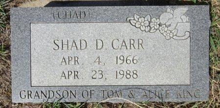 CARR, SHAD - Jones County, South Dakota   SHAD CARR - South Dakota Gravestone Photos