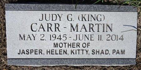 KING CARR-MARTIN, JUDY - Jones County, South Dakota | JUDY KING CARR-MARTIN - South Dakota Gravestone Photos