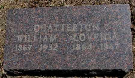 CHATTERTON, LOVENIA - Jones County, South Dakota | LOVENIA CHATTERTON - South Dakota Gravestone Photos