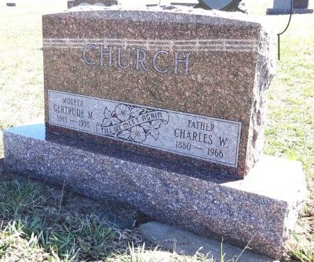 CHURCH, CHARLES - Jones County, South Dakota | CHARLES CHURCH - South Dakota Gravestone Photos