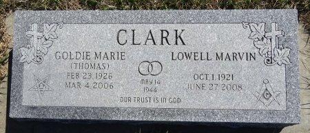 THOMAS CLARK, GOLDIE - Jones County, South Dakota   GOLDIE THOMAS CLARK - South Dakota Gravestone Photos