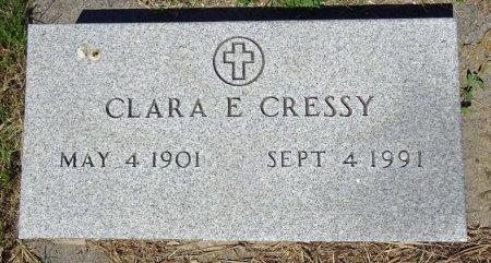 CRESSY, CLARA - Jones County, South Dakota | CLARA CRESSY - South Dakota Gravestone Photos