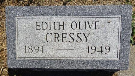 CRESSY, EDITH - Jones County, South Dakota   EDITH CRESSY - South Dakota Gravestone Photos