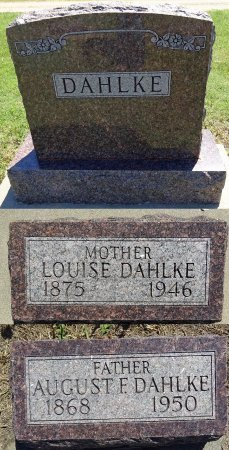 DAHLKE, AUGUST - Jones County, South Dakota | AUGUST DAHLKE - South Dakota Gravestone Photos