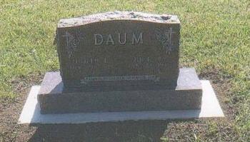 DAUM, JUDITH - Jones County, South Dakota | JUDITH DAUM - South Dakota Gravestone Photos