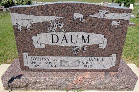 DAUM, JANE - Jones County, South Dakota | JANE DAUM - South Dakota Gravestone Photos