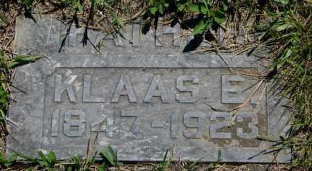 DAUM, KLAAS E. - Jones County, South Dakota | KLAAS E. DAUM - South Dakota Gravestone Photos