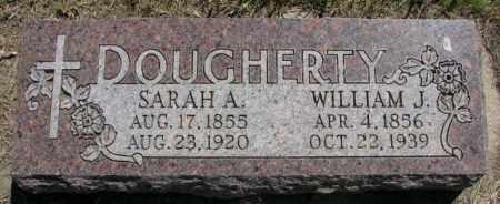 DOUGHERTY, SARAH A. - Jones County, South Dakota | SARAH A. DOUGHERTY - South Dakota Gravestone Photos