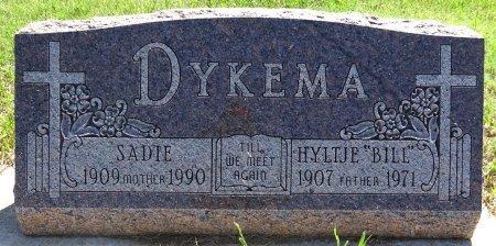 "DYKEMA, HYLTJE ""BILL"" - Jones County, South Dakota | HYLTJE ""BILL"" DYKEMA - South Dakota Gravestone Photos"