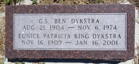 DYKSTRA, EUNICE  - Jones County, South Dakota | EUNICE  DYKSTRA - South Dakota Gravestone Photos