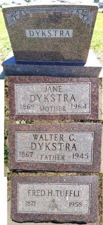 DYKSTRA, FRED - Jones County, South Dakota | FRED DYKSTRA - South Dakota Gravestone Photos