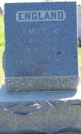 ENGLAND, EMILY - Jones County, South Dakota | EMILY ENGLAND - South Dakota Gravestone Photos