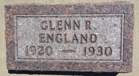ENGLAND, GLENN - Jones County, South Dakota | GLENN ENGLAND - South Dakota Gravestone Photos