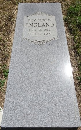 ENGLAND, ROY CURTIS - Jones County, South Dakota   ROY CURTIS ENGLAND - South Dakota Gravestone Photos