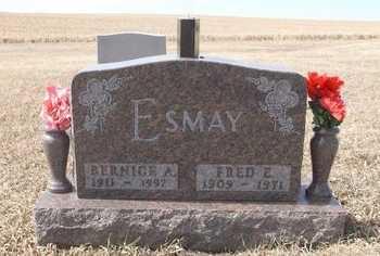 ESMAY, FRED - Jones County, South Dakota | FRED ESMAY - South Dakota Gravestone Photos