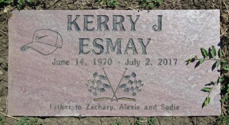 ESMAY, KERRY - Jones County, South Dakota | KERRY ESMAY - South Dakota Gravestone Photos