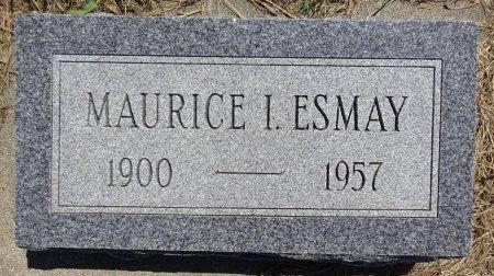 ESMAY, MAURICE - Jones County, South Dakota   MAURICE ESMAY - South Dakota Gravestone Photos