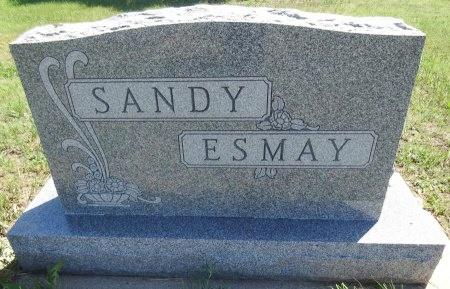 ESMAY, SANDY - Jones County, South Dakota | SANDY ESMAY - South Dakota Gravestone Photos