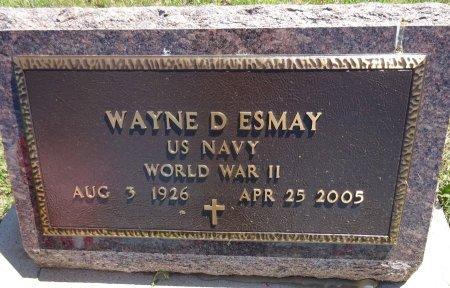ESMAY, WAYNE - Jones County, South Dakota | WAYNE ESMAY - South Dakota Gravestone Photos