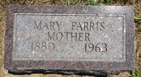 FARRIS, MARY - Jones County, South Dakota | MARY FARRIS - South Dakota Gravestone Photos