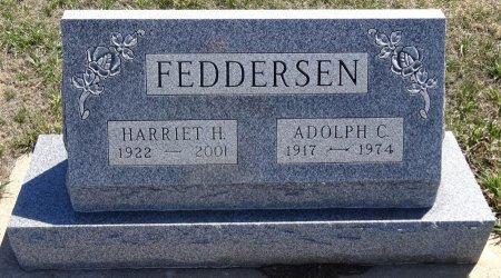 FEDDERSEN, HARRIET H. - Jones County, South Dakota | HARRIET H. FEDDERSEN - South Dakota Gravestone Photos