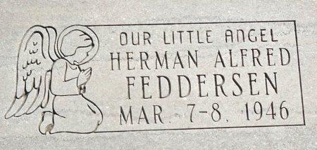 FEDDERSEN, HERMAN ALFRED - Jones County, South Dakota | HERMAN ALFRED FEDDERSEN - South Dakota Gravestone Photos