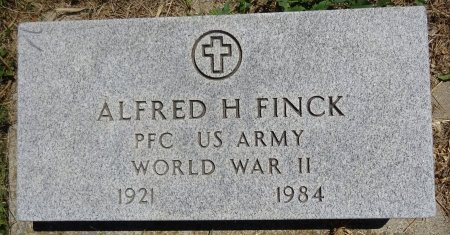 FINCK, ALFRED - Jones County, South Dakota | ALFRED FINCK - South Dakota Gravestone Photos