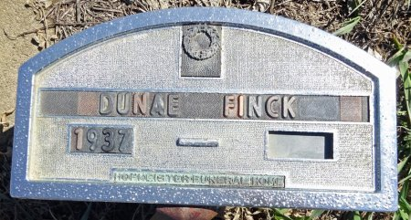 FINCK, DUNAE - Jones County, South Dakota | DUNAE FINCK - South Dakota Gravestone Photos