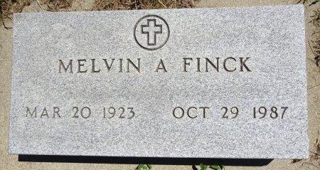 FINCK, MELVIN - Jones County, South Dakota | MELVIN FINCK - South Dakota Gravestone Photos
