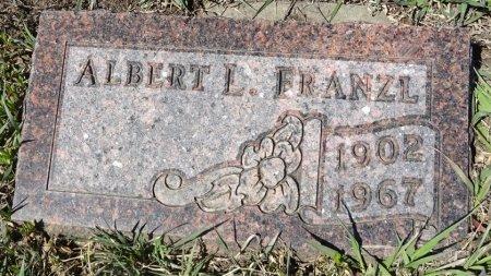 FRANZL, ALBERT - Jones County, South Dakota | ALBERT FRANZL - South Dakota Gravestone Photos