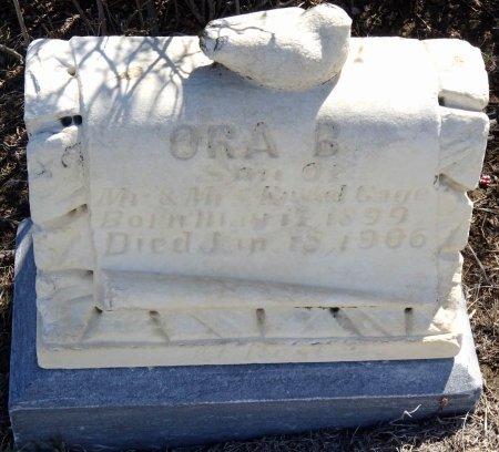 GAGE, ORA B. - Jones County, South Dakota | ORA B. GAGE - South Dakota Gravestone Photos