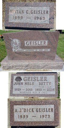 GEISLER, BETTY - Jones County, South Dakota | BETTY GEISLER - South Dakota Gravestone Photos