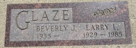 GLAZE, LARRY - Jones County, South Dakota | LARRY GLAZE - South Dakota Gravestone Photos