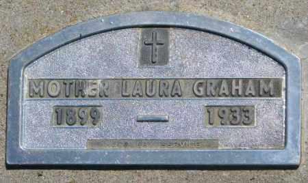 GRAHAM, LAURA - Jones County, South Dakota   LAURA GRAHAM - South Dakota Gravestone Photos