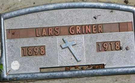 GRINER, LARS - Jones County, South Dakota | LARS GRINER - South Dakota Gravestone Photos