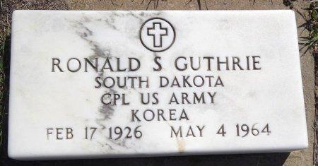 GUTHRIE, RONALD S. - Jones County, South Dakota | RONALD S. GUTHRIE - South Dakota Gravestone Photos