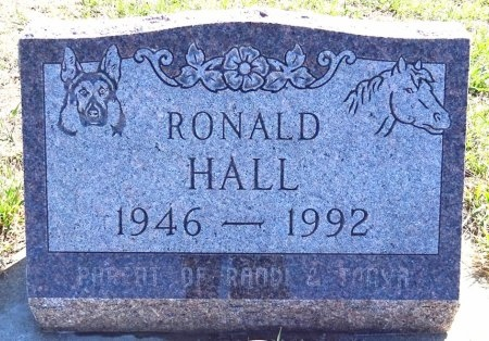 HALL, RONALD - Jones County, South Dakota | RONALD HALL - South Dakota Gravestone Photos