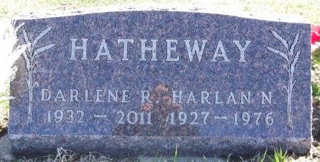 HATHEWAY, DARLENE R. - Jones County, South Dakota | DARLENE R. HATHEWAY - South Dakota Gravestone Photos