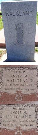 HAUGLAND, INGER - Jones County, South Dakota | INGER HAUGLAND - South Dakota Gravestone Photos