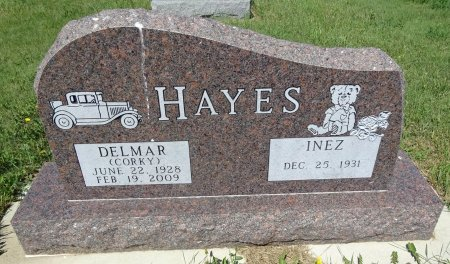 "HAYES, DELMAR ""CORKY"" - Jones County, South Dakota   DELMAR ""CORKY"" HAYES - South Dakota Gravestone Photos"