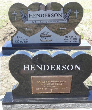 HENDERSON, HARLEY F. - Jones County, South Dakota | HARLEY F. HENDERSON - South Dakota Gravestone Photos