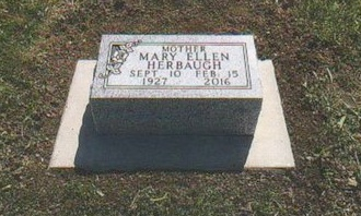 WELLMAN HERBAUGH, MARY ELLEN - Jones County, South Dakota | MARY ELLEN WELLMAN HERBAUGH - South Dakota Gravestone Photos