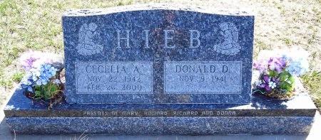 HIEB, CECELIA A. - Jones County, South Dakota | CECELIA A. HIEB - South Dakota Gravestone Photos
