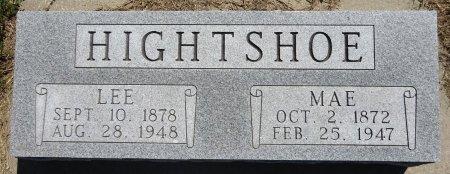 HIGHTSHOE, LEE - Jones County, South Dakota   LEE HIGHTSHOE - South Dakota Gravestone Photos