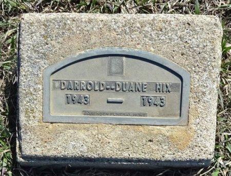 HIX, DARROLD DUANE - Jones County, South Dakota | DARROLD DUANE HIX - South Dakota Gravestone Photos