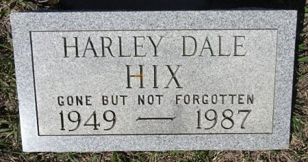HIX, HARLEY DALE - Jones County, South Dakota | HARLEY DALE HIX - South Dakota Gravestone Photos