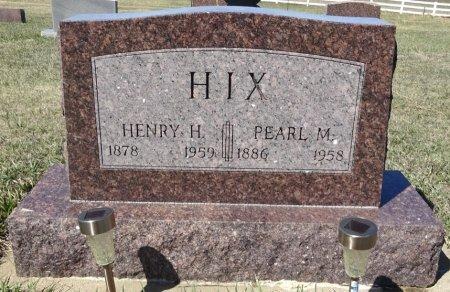 HIX, HENRY H. - Jones County, South Dakota | HENRY H. HIX - South Dakota Gravestone Photos